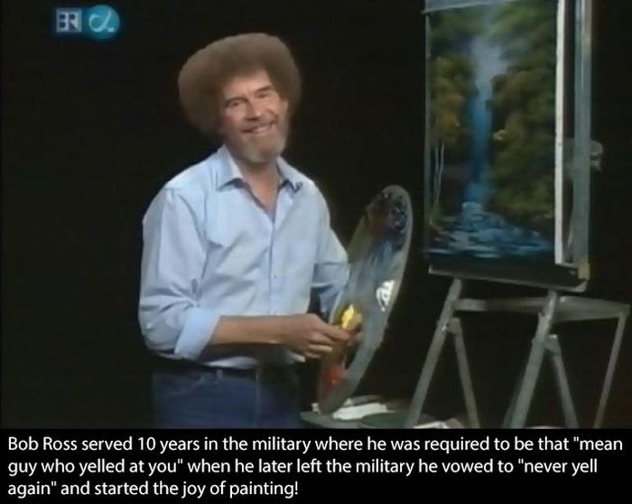 Bob Ross Was A Boss