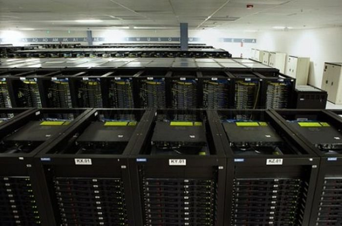 Inside a Facebook Server Farm