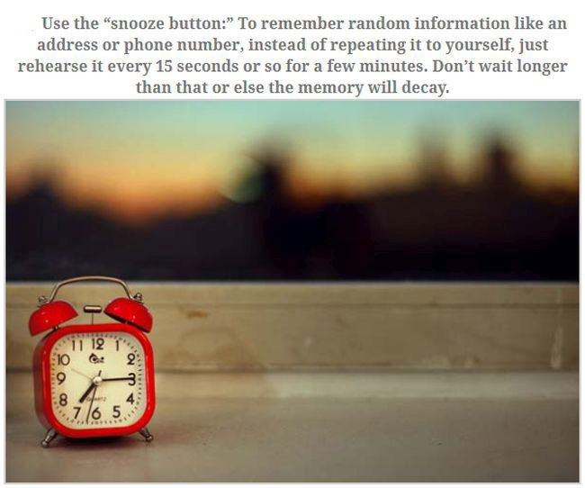 How To Improve Your Memory In No Time