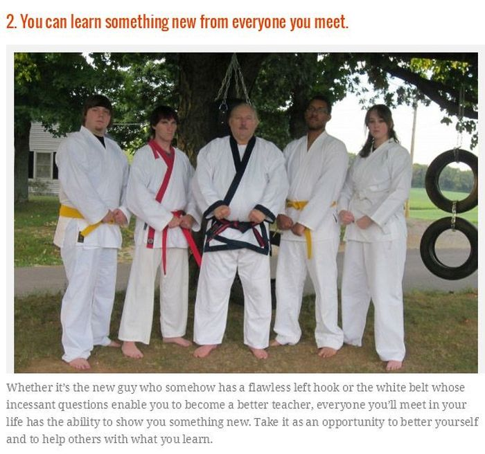 Things You Will Only Learn From Martial Arts