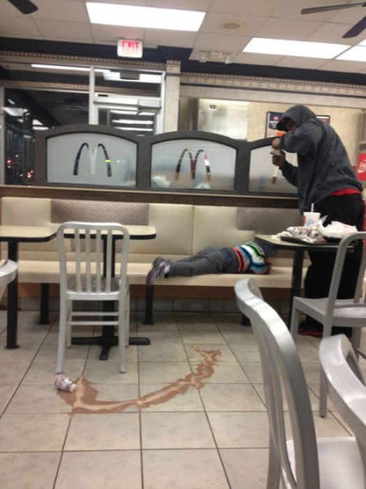 Things You Will Only See At Fast Food Restaurants