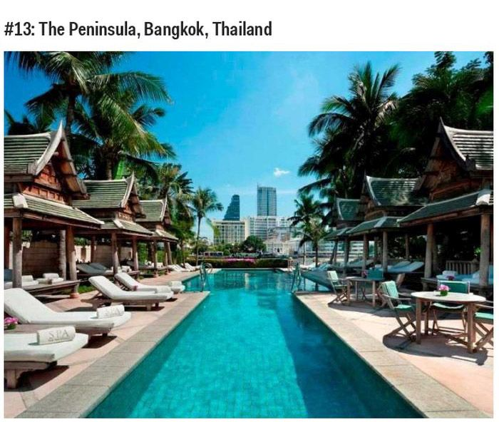 Top 25 Best Hotels On The Planet