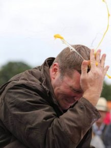 Welcome To The Egg Throwing Championships 2014