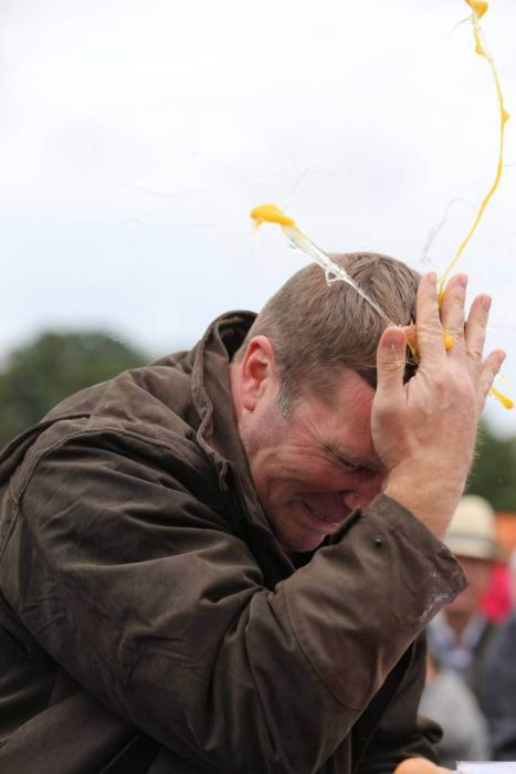 Welcome To The Egg Throwing Championships 2014, part 2014