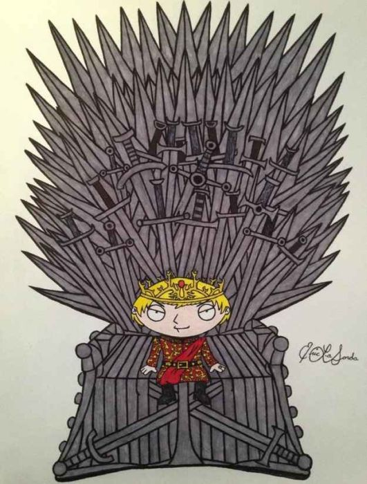 If Game Of Thrones And Family Guy Did A Crossover