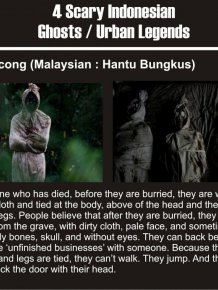 Indonesian Ghosts Are Creepy