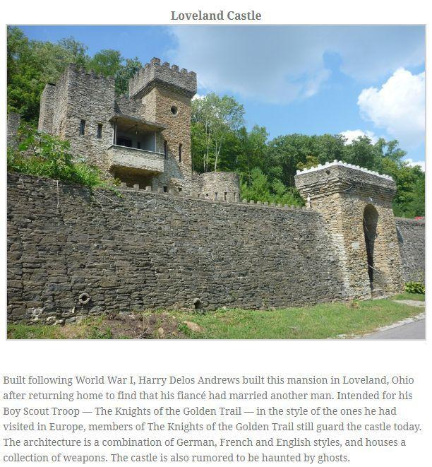 Medieval Castles In America