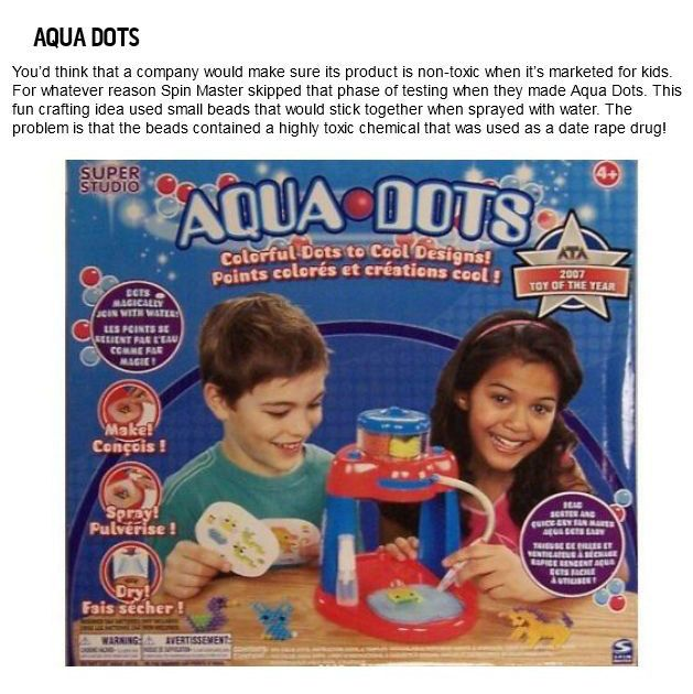Dangerous Toys Your Kids Shouldn't Play With