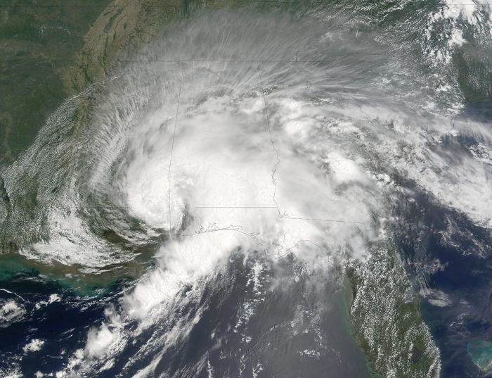 15 Expensive Hurricanes Viewed From Outer Space