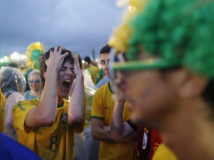 Brazil Fans Aren't Happy About That World Cup Loss