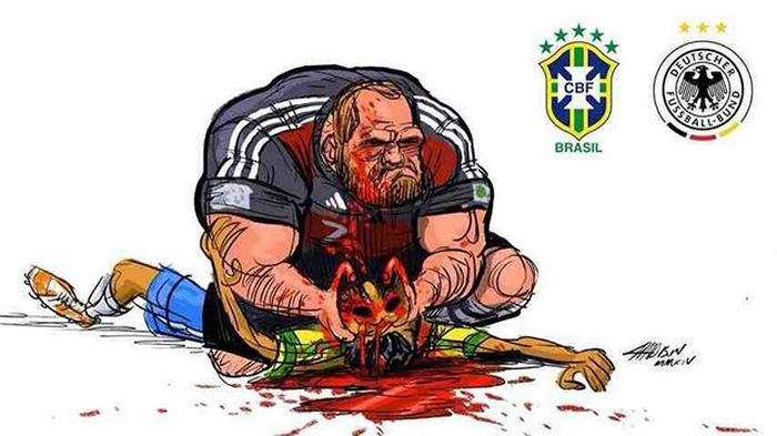 The Best Brazil Vs Germany Memes From The World Cup