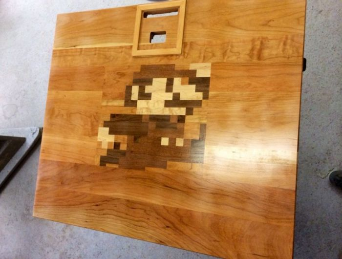 Make Your Own Nintendo Table