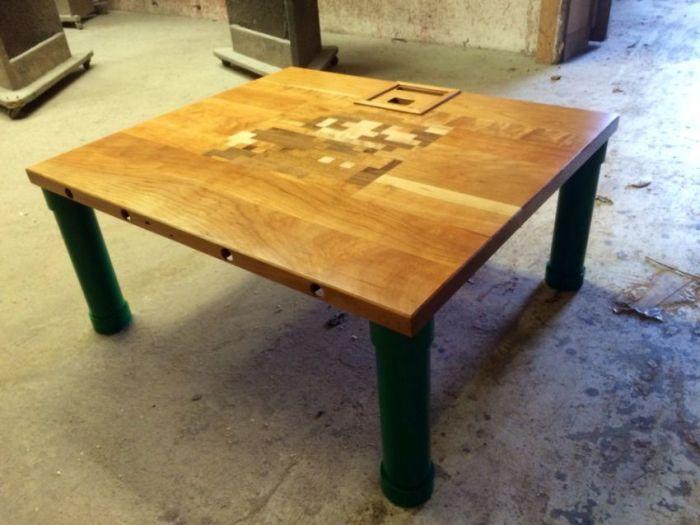 Make Your Own Nintendo Table