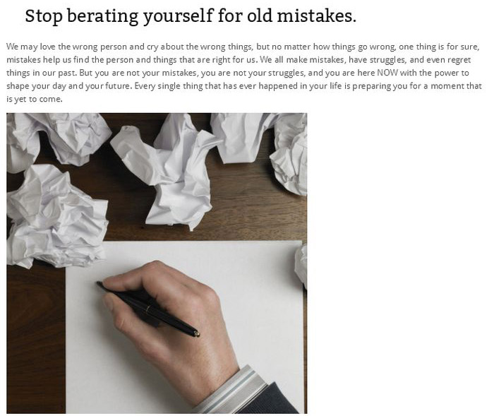 30 Things You Need To Stop Doing Right Now
