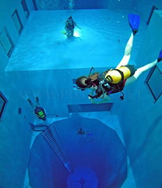 The World's Deepest Swimming Pool
