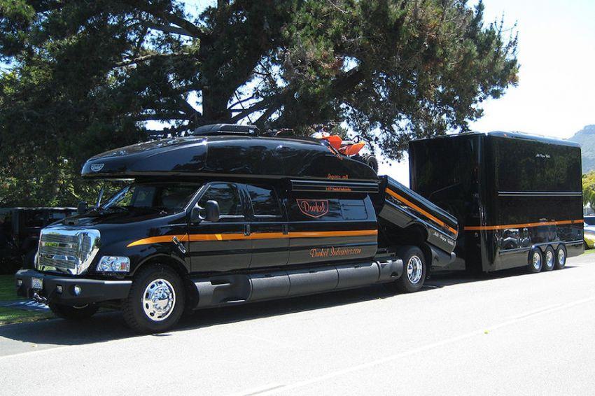 Ford F 750 Dunkel Luxury Hauler 4х4 Part 44 Vehicles