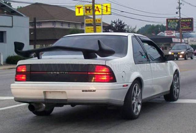 Ridiculous Car Spoilers