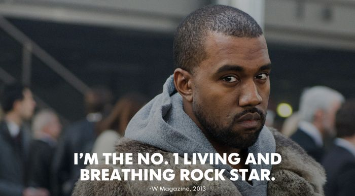 Kanye West Is Totally In Love With Kanye West