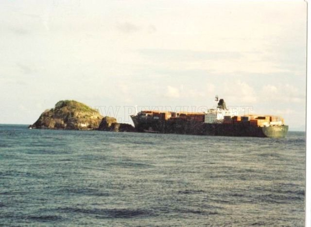 Accidents with Container Ships