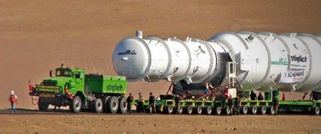 How they transport oversized loads
