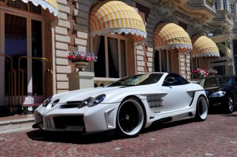 Mercedes SLR McLaren by Fab Design