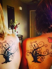 40 Beautifully Touching Mother/Daughter Tattoos