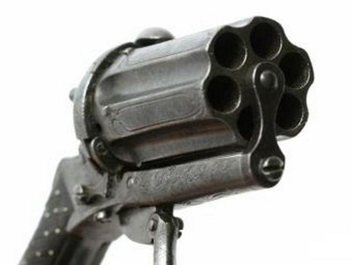 Vintage 19th Century Revolver