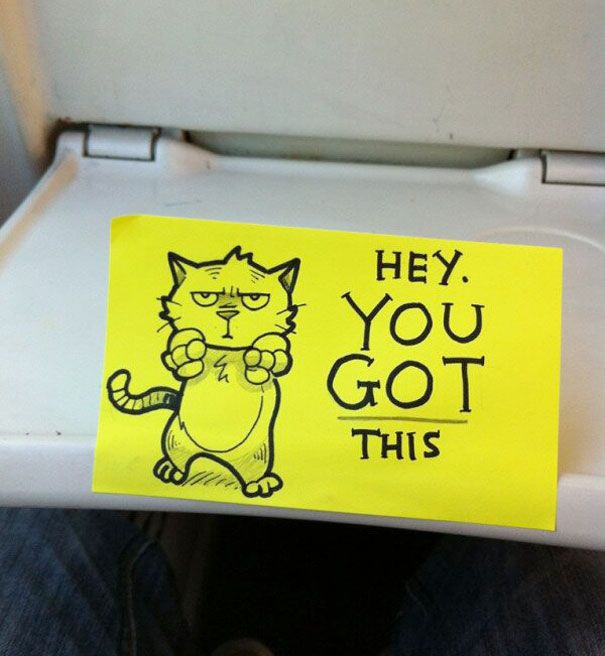 This Train Ride Comes With Some Motivational Notes