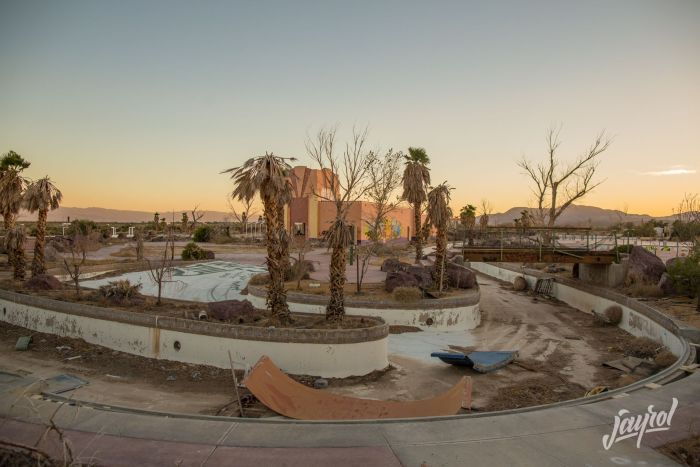 This Abandoned Water Park Looks A Little Sad