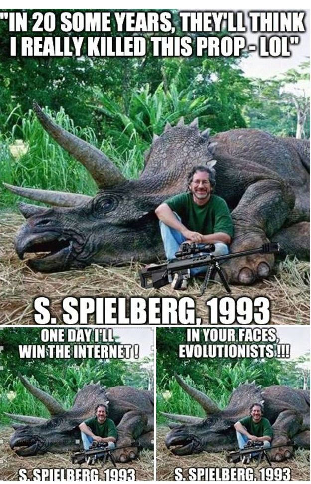 Steven Spielberg Is Hunting Triceratops Others