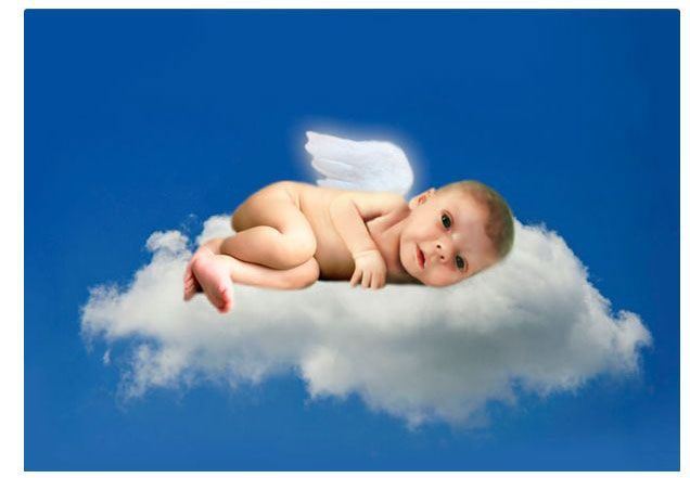Strangers Were Asked to Photoshop a Photo of a 6-Week-Old Child