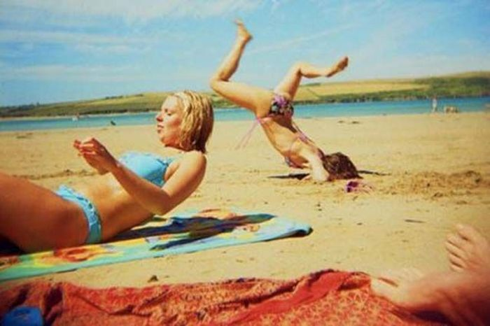 These People Are Doing The Beach Wrong