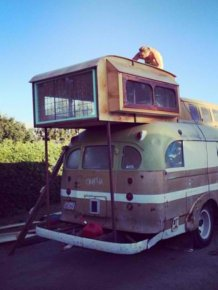 1948 Chevy Bus Gets An Awesome Makeover