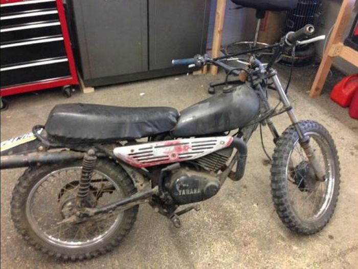 1980s Yamaha Dirtbike Gets A Modern Look