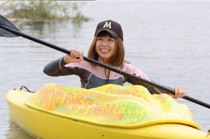 Only The Japanese Would Use A Vagina As A Kayak