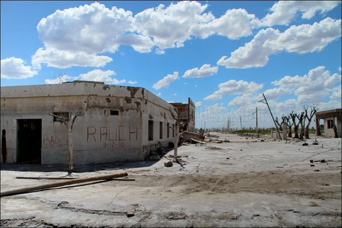Ghost-Town - Epecuen, Argentina