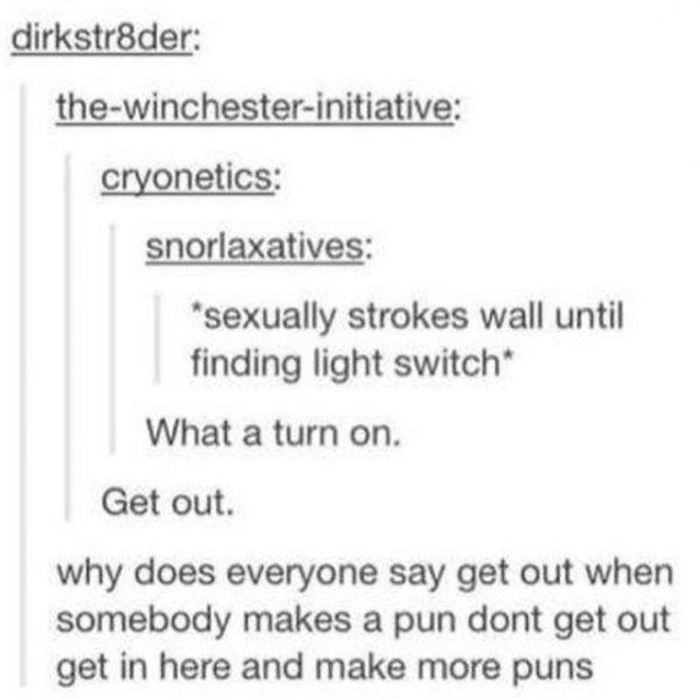 Puns That Are So Bad They're Good
