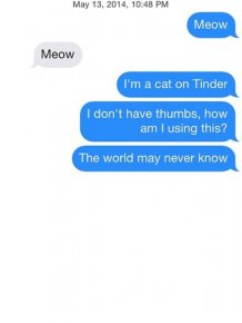 When Tinder Users Get Straight To The Point