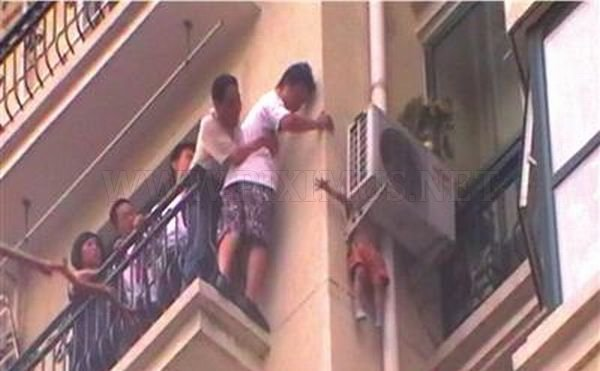 Child Saved by an Air Conditioner