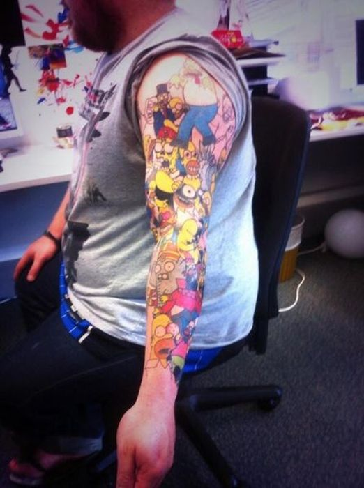 This Is The Biggest Homer Simpson Fan On The Planet