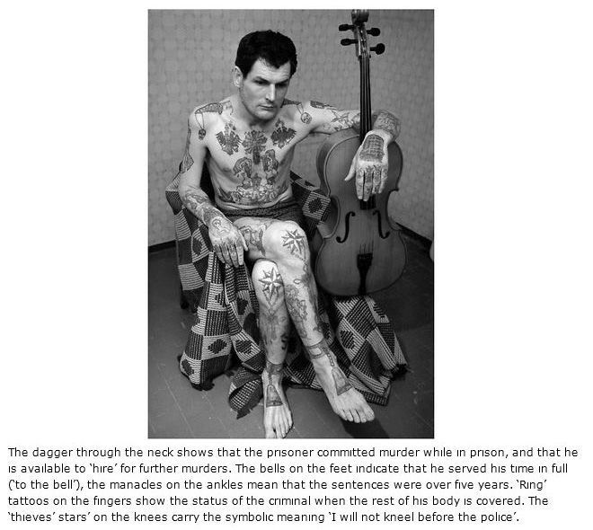 Russian Prison Tattoos Meanings