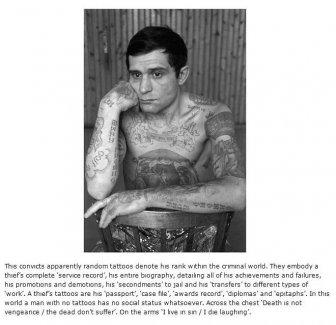 The Hidden Meaning Behind Russian Prison Tattoos