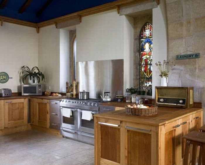 Church Gets Converted Into A Beautiful Home