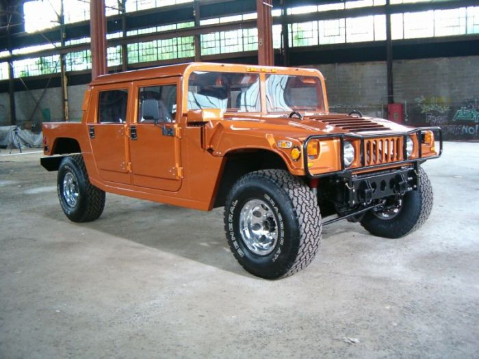 Ford F-150 Converted Into A Hummer H1