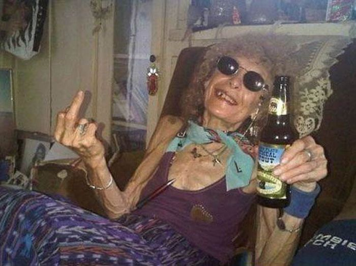Old People That Know How To Party Hard