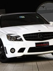 Mercedes-Benz C63 AMG WhiteStorm - Romeo Farraris