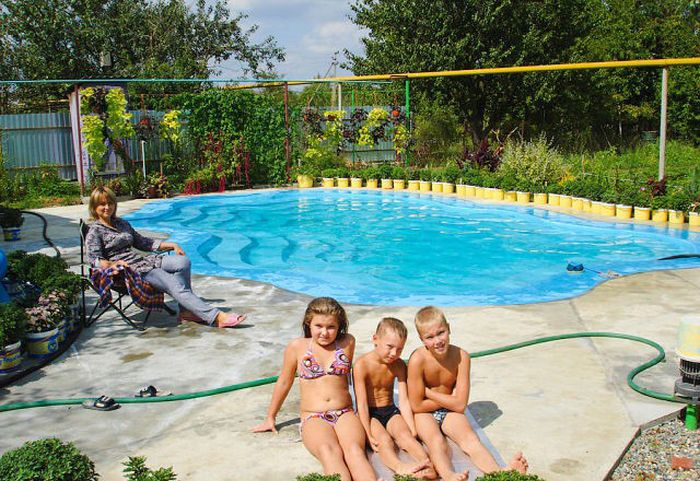 Custom Built DIY Swimming Pool