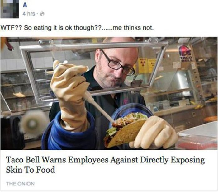 When People Think The Onion Is Real