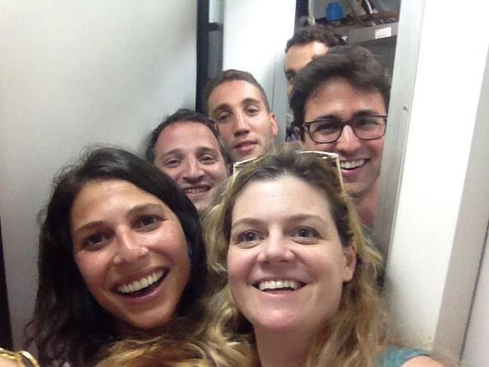 Bomb Shelter Selfies Are Now A Thing