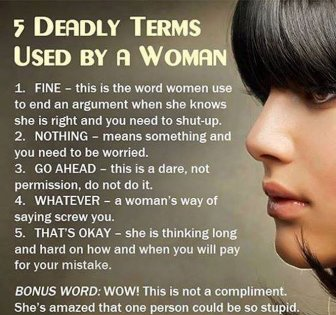 Women's Logic Will Never Be Explained